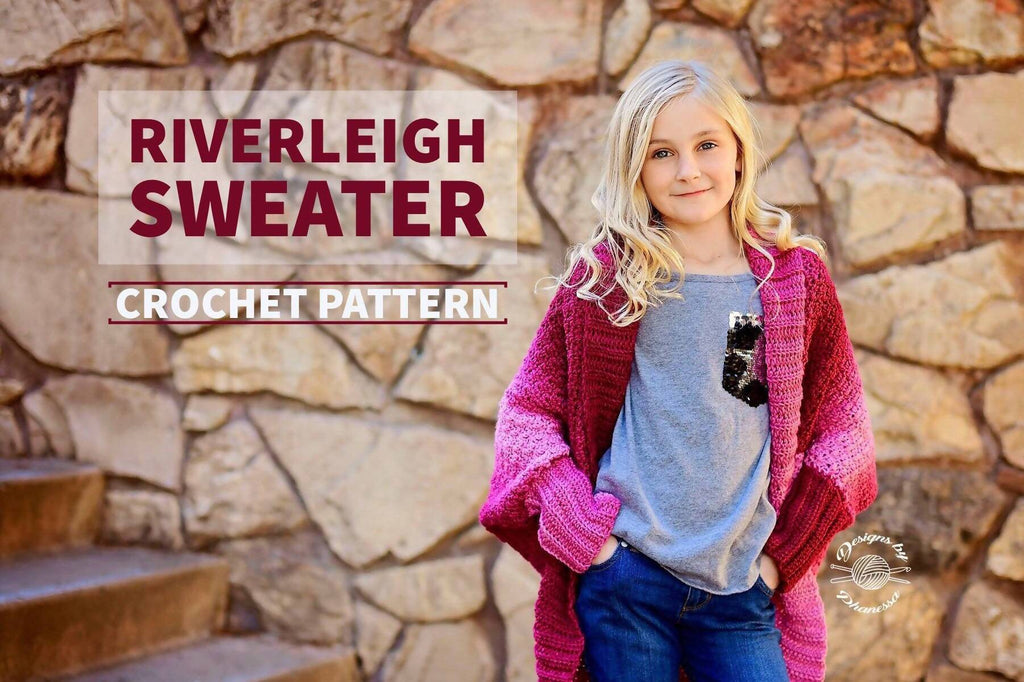 Crochet Riverleigh Sweater - KNITCRATE