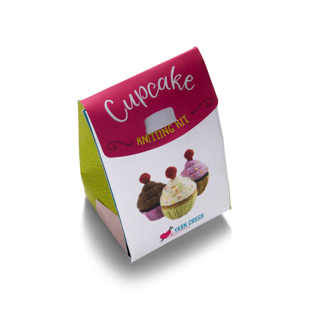 Cupcake Knitting Kit