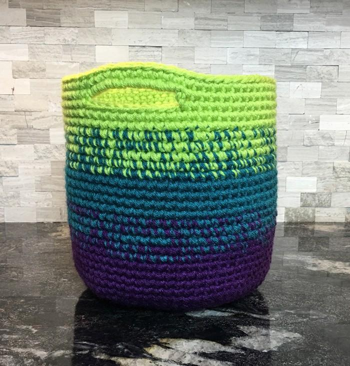 Cutie Utility Basket Crochet Pattern - KNITCRATE