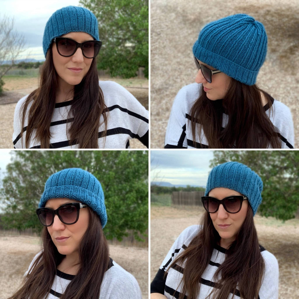 Easy Knit Beanies Duo