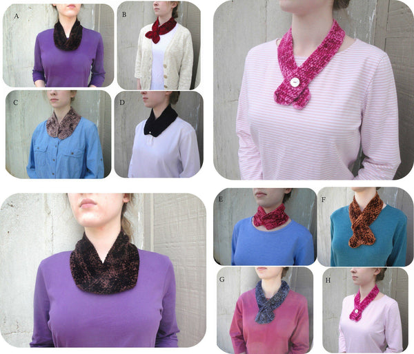 Eight One Skein Touch Me Scarves - KNITCRATE