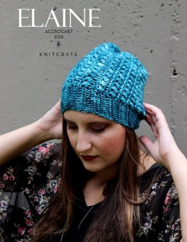 Elaine Hat - KNITCRATE