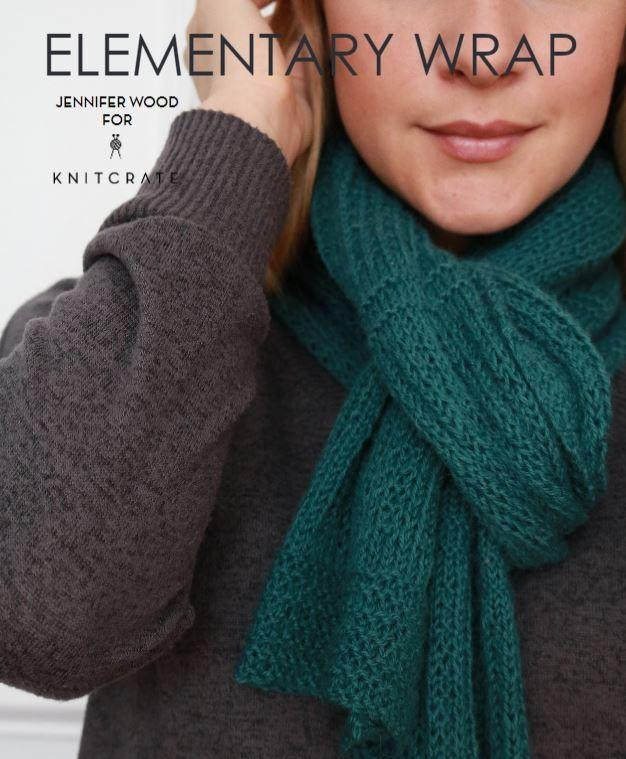 Elementary Wrap - KNITCRATE