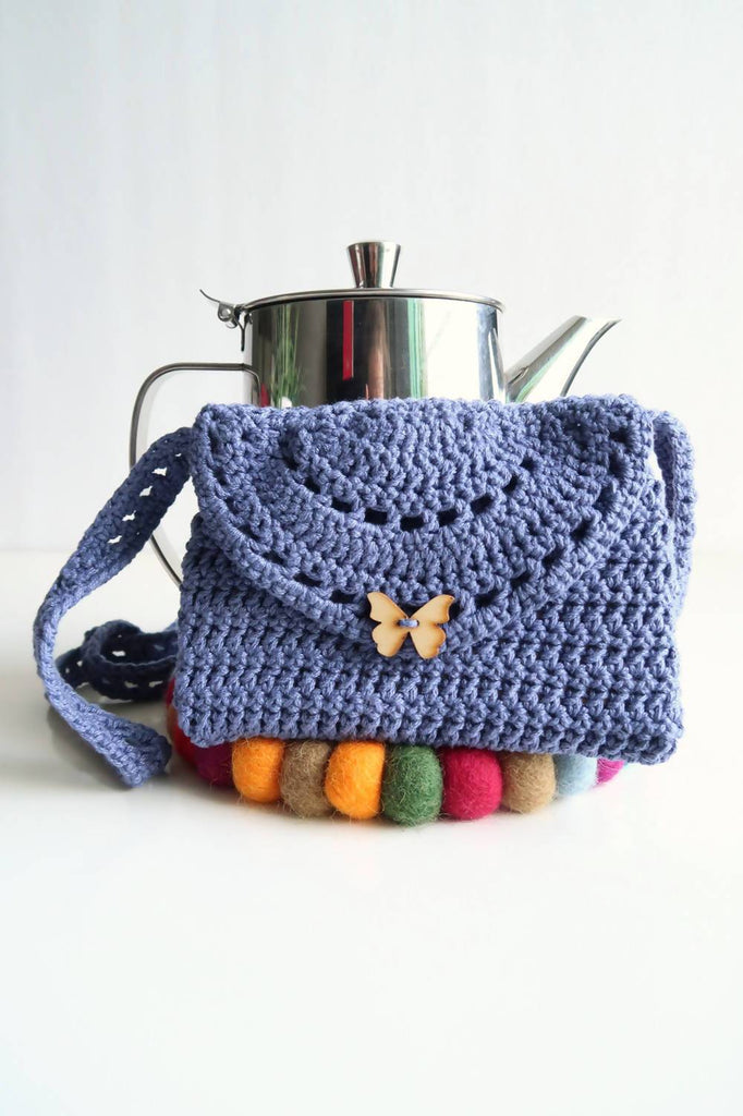 Eyelet Purse - KNITCRATE