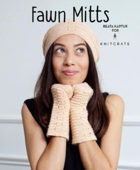 Fawn Mitts - KNITCRATE