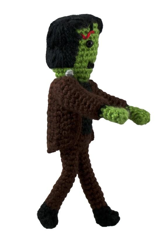 Frankenstein's Monster Crochet Pattern