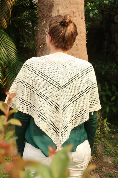 Gathering Driftwood Shawl Crochet Pattern