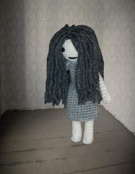 Ghost Girl Crochet Pattern
