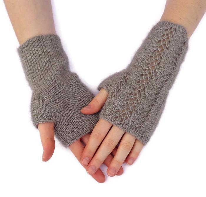 Graceful Fingerless Gloves