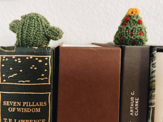 Greenery bookmarks