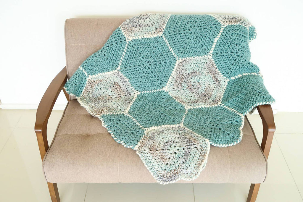 Hexagon Flower Blanket