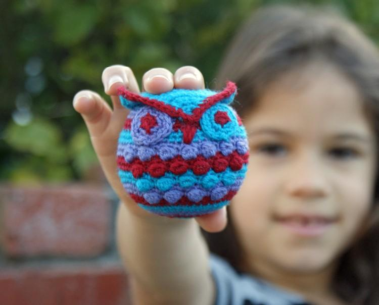 Hootie Who Owl Ornament Crochet Pattern