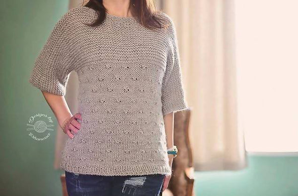 Knit Knotted Pullover