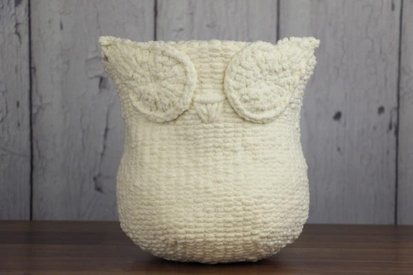 Knit Owl Basket Knit Pattern