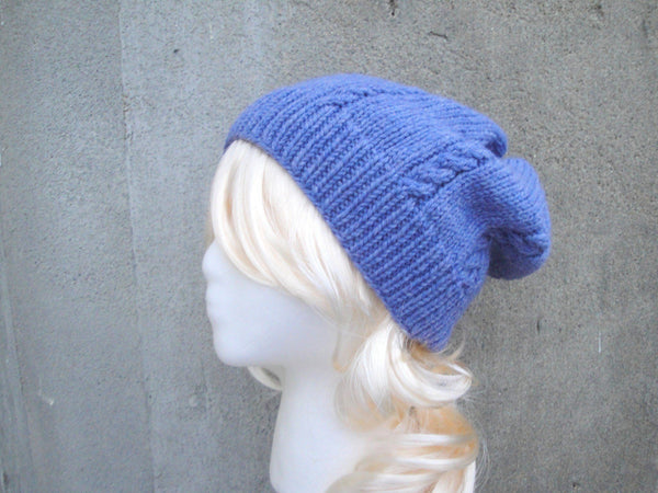 Lavender Cable Hat