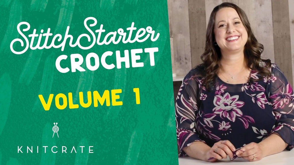 Learn How to Crochet - Stitch Starter Crochet Series 1