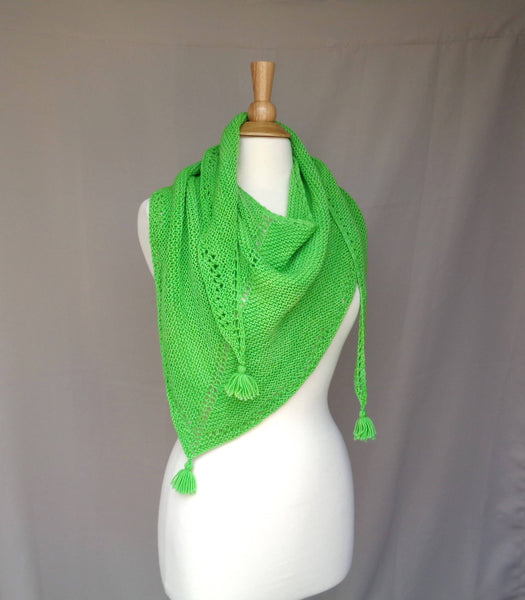 Lime Time Scarf