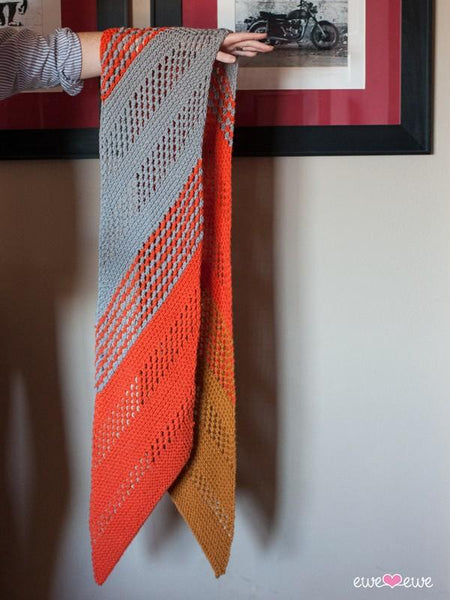 Marmalade Dream PDF Scarf Knitting Pattern