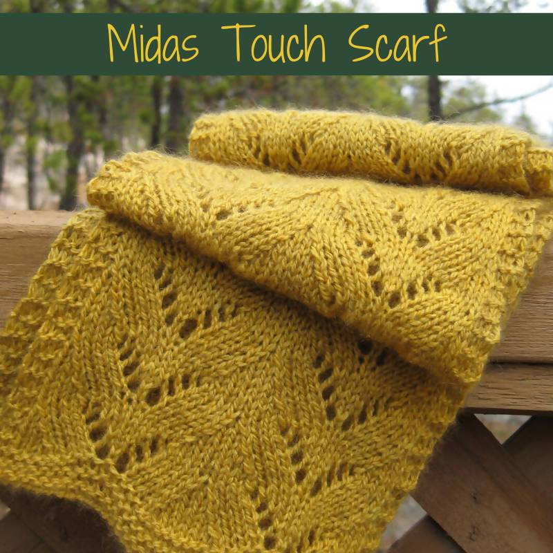 Midas Touch Scarf