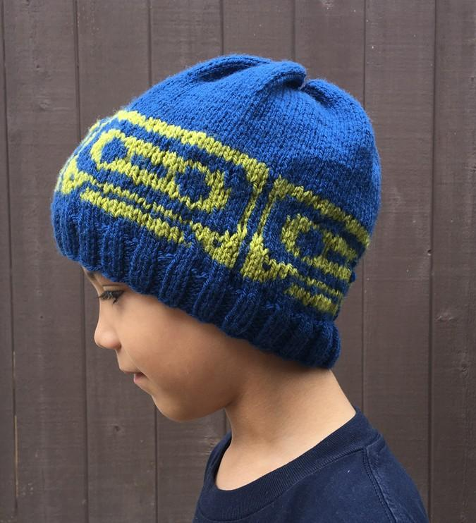 Mix Tape Beanie Knit Pattern