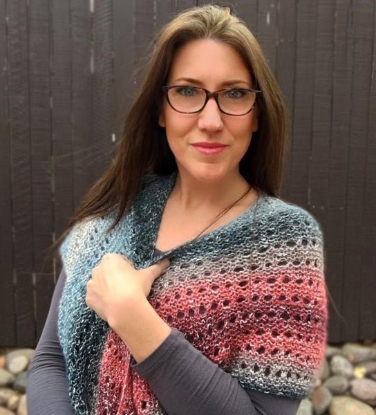 Moonstone Shawl Knit Pattern