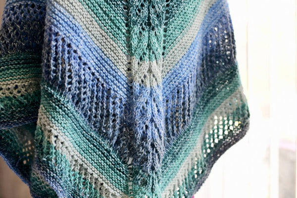 My First Knit Shawl Pattern
