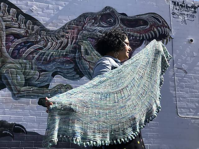 New Worlds Shawl