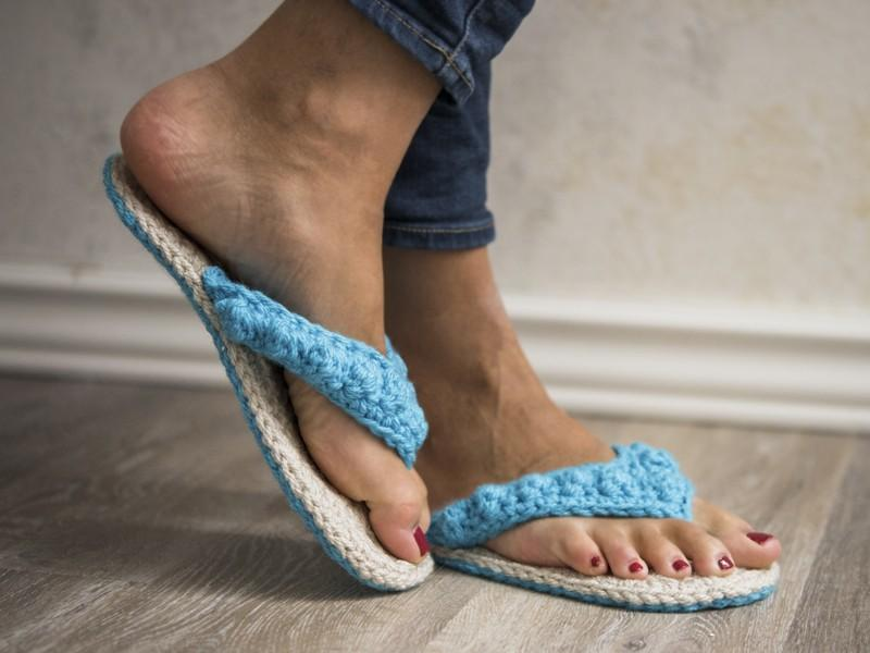 Ocean City Flip Flops Crochet Pattern
