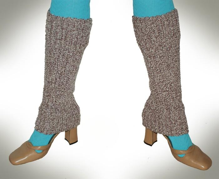 Over The Shoe Women's Leg Warmers Crochet Pattern