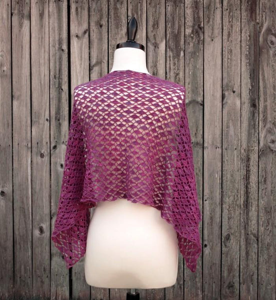 Portola Lace Shawl Crochet Pattern