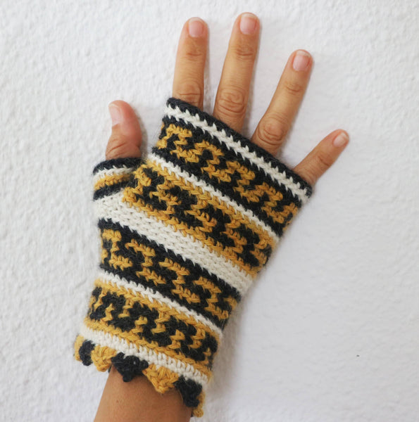 Puntas Fingerless Mitts