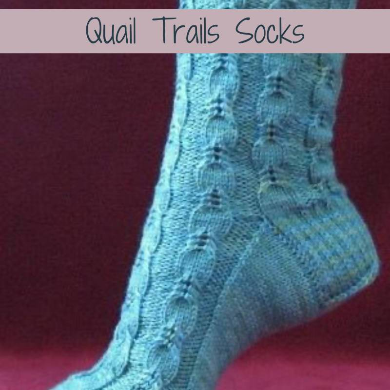 Quail Trails Socks