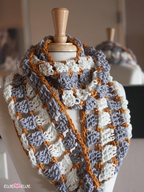 Reef & Sand PDF Crochet Cowl and Infinity Scarf Pattern