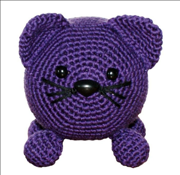 Roly Poly Kitty Amigurumi Crochet PatternC