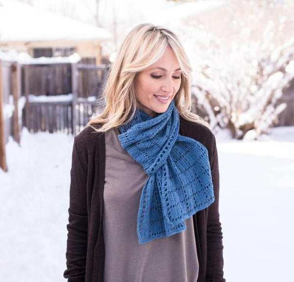 Square Squared Scarf Crochet Pattern