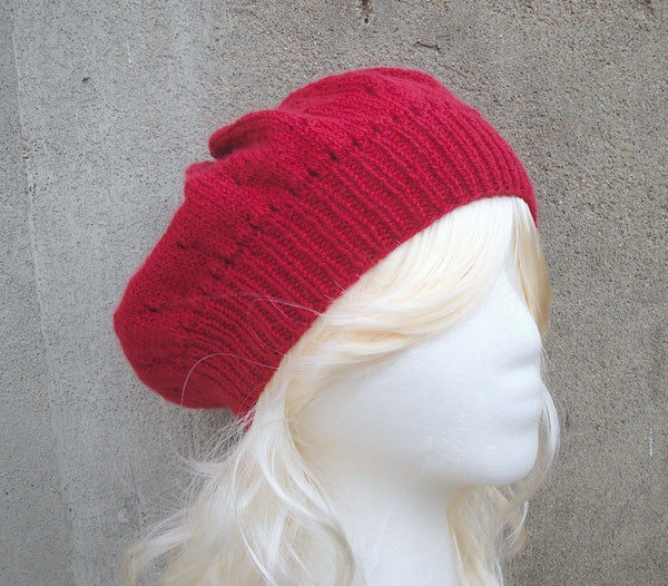 Strawberry Slouch Hat