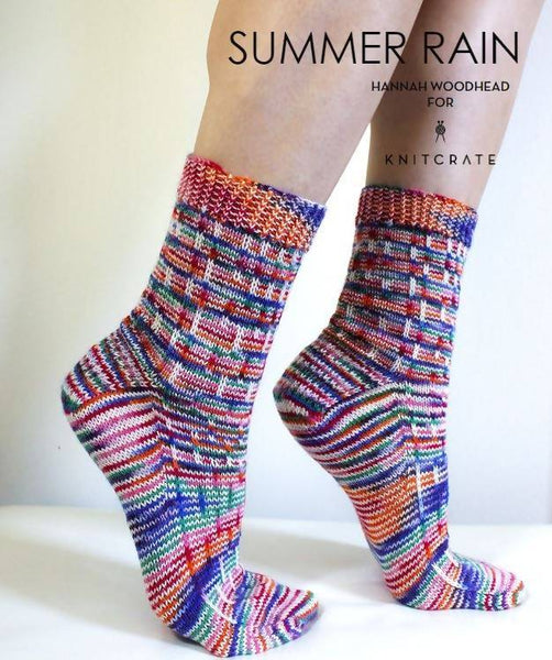 Summer Rain Socks