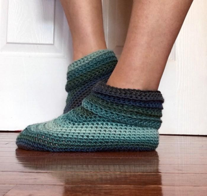 Sweet Slippers Crochet Pattern