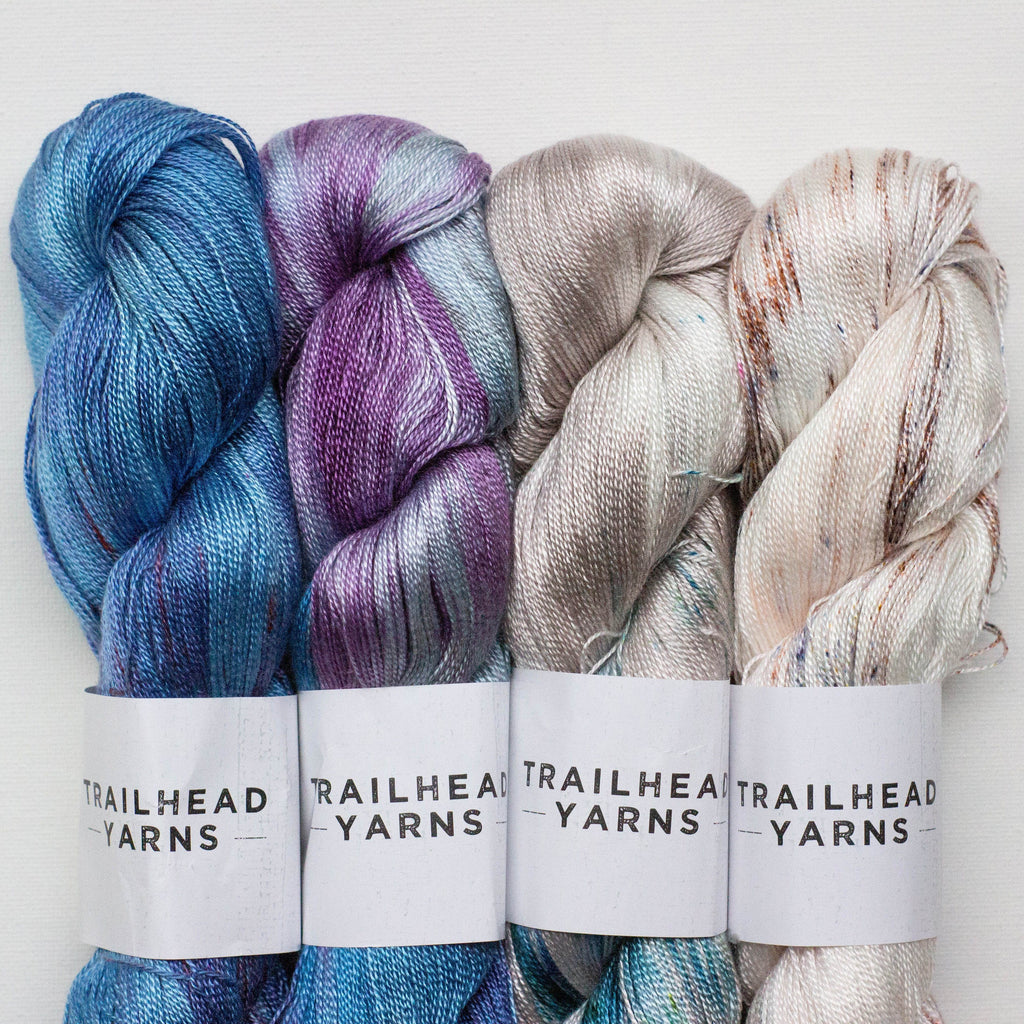 Trailhead Yarns Blue Eyed Baby 4-Pack Bundle