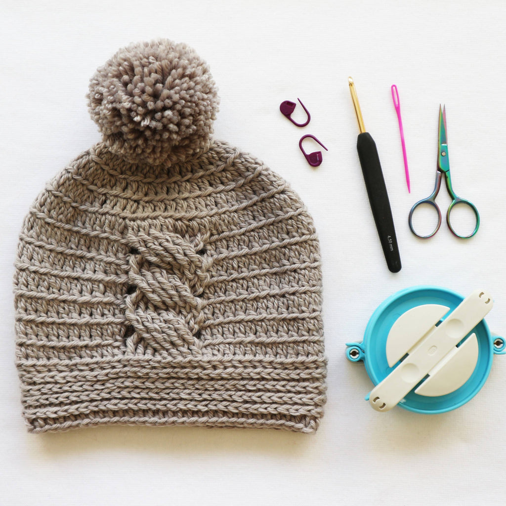 Ulises Crochet Cable Hat