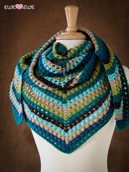 Whenever Wrap PDF Knitting Pattern