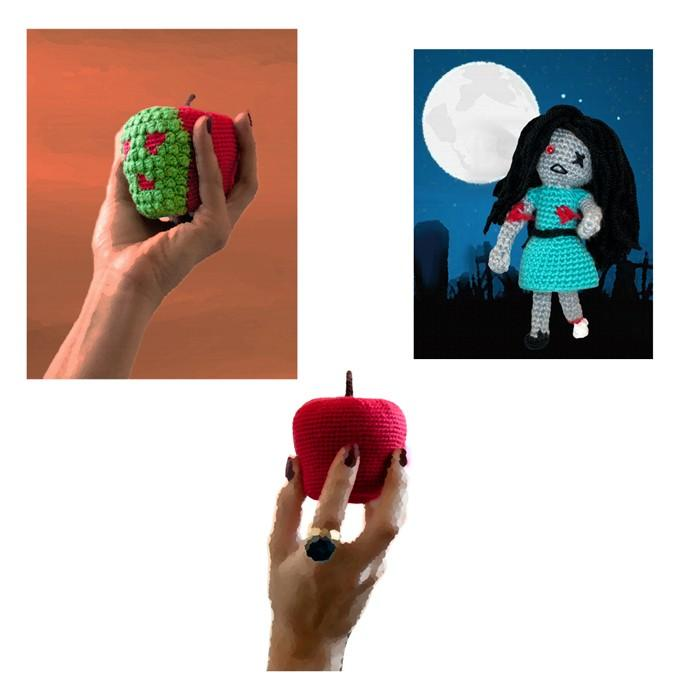 Wonderfully Horrific Crochet 14 Classic Horror Film Patterns Crochet Patterns