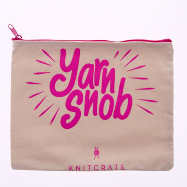 Yarn Snob Project Bag