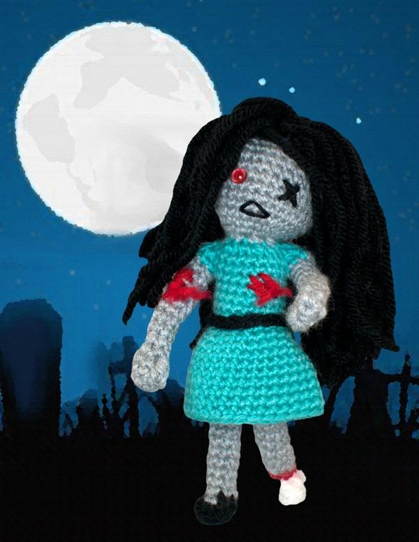 Zombie Girl Crochet Pattern