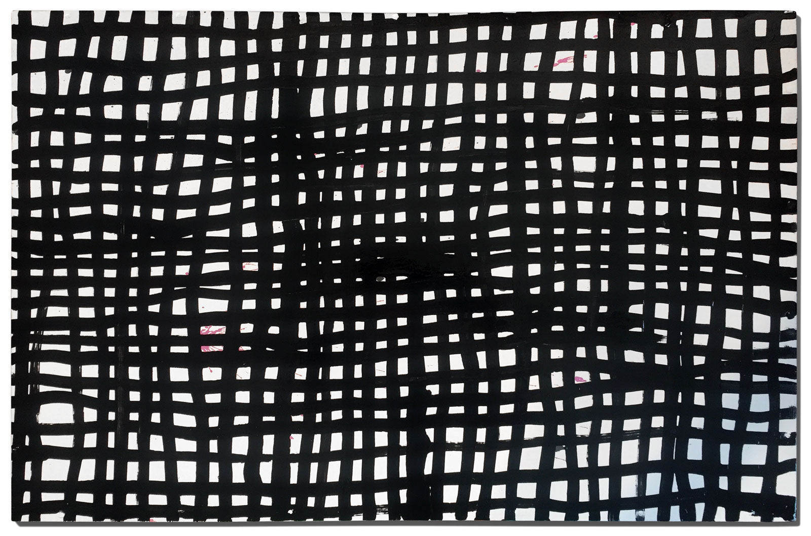 Artist Alicia McCarthy uses Krink Black Mop in new painting work