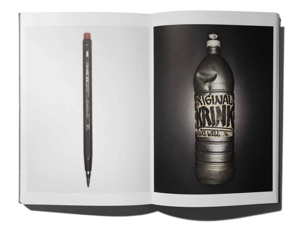 Krink in new photography book Document by Henry Leutwyler