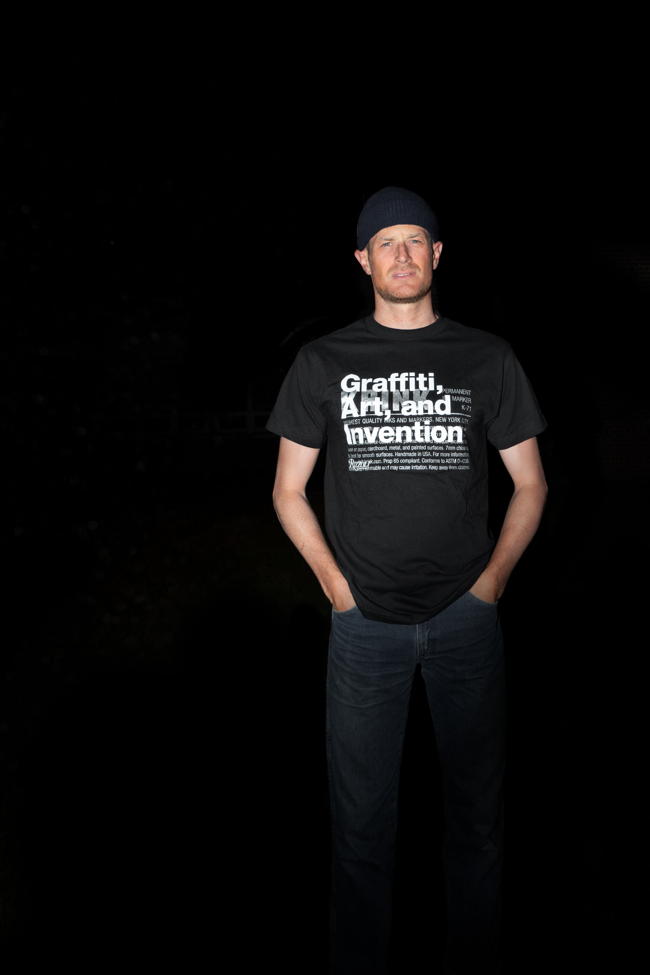 Graffiti, Art, and Invention Tee