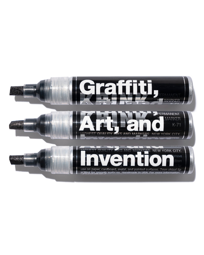 Graffiti, Art, and Invention K-71 Ink Marker
