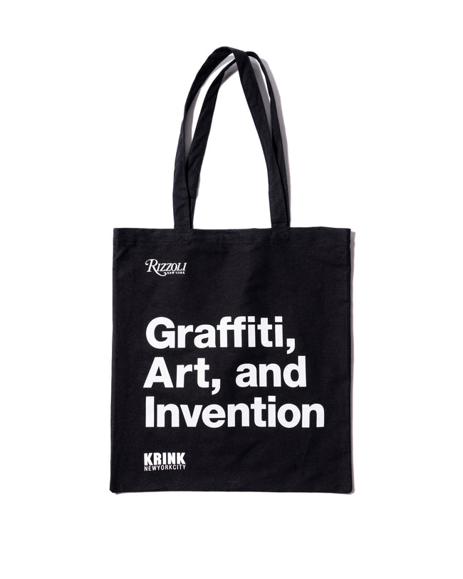 Graffiti, Art, and Invention Tote