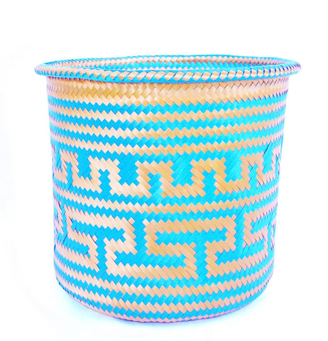 Colorful Mexican Basket